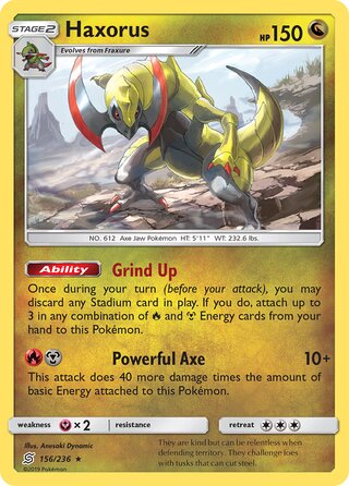 Haxorus (Unified Minds 156/236)