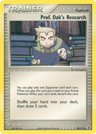 Prof. Oak's Research (EX FireRed & LeafGreen 98/112)
