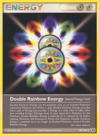 Double Rainbow Energy (EX Emerald 87/106)
