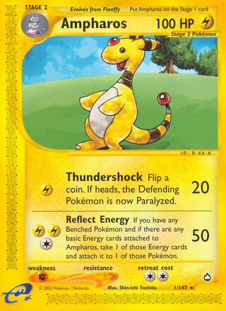 Ampharos (Aquapolis 1/147)