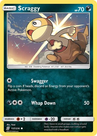 Scraggy (Unified Minds 137/236)