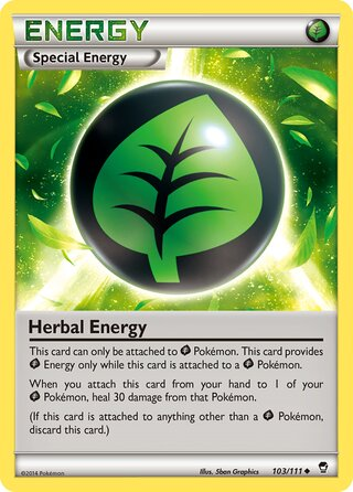 Herbal Energy (Furious Fists 103/111)