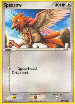 Spearow (EX Crystal Guardians 61/100)