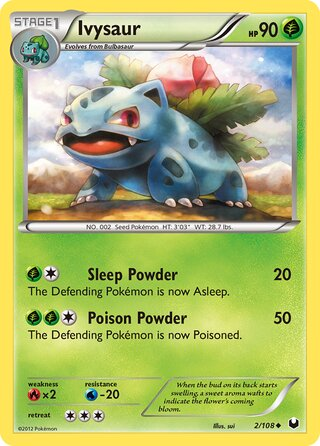 Ivysaur (Dark Explorers 2/108)