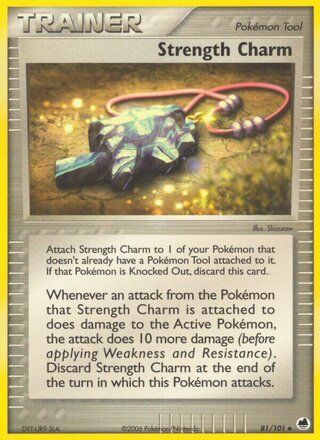Strength Charm (EX Dragon Frontiers 81/101)