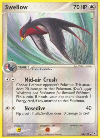 Swellow (EX Deoxys 49/107)