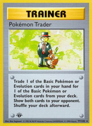 Pokémon Trader (Base Set 77/102)