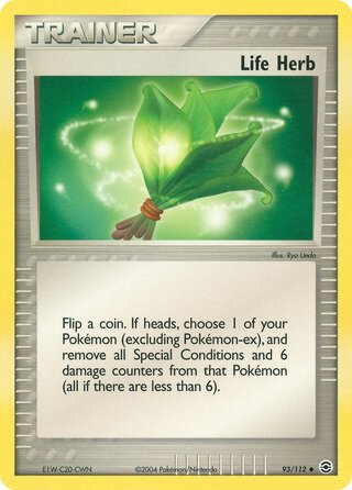 Life Herb (EX FireRed & LeafGreen 93/112)