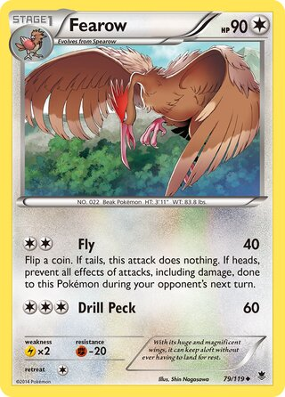 Fearow (Phantom Forces 79/119)