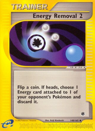 Energy Removal 2 (Expedition Base Set 140/165)