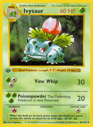 Ivysaur (Base Set 30/102)