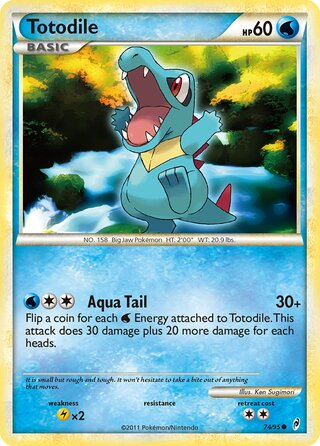 Totodile (Call of Legends 74/95)
