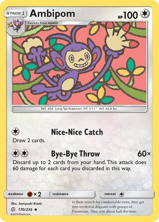Ambipom (Cosmic Eclipse 170/236)