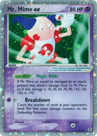 Mr. Mime ex (EX FireRed & LeafGreen 110/112)