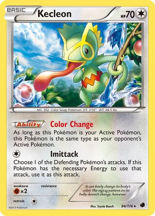 Kecleon (Plasma Freeze 94/116)