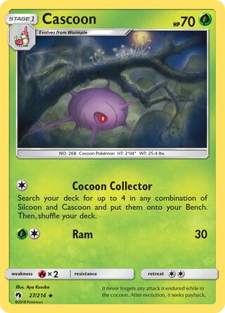 Cascoon (Lost Thunder 27/214)