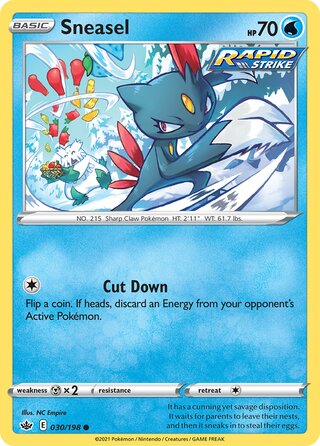 Sneasel (Chilling Reign 030/198)