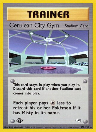 Cerulean City Gym (Gym Heroes 108/132)