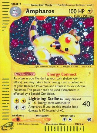 Ampharos (Expedition Base Set 2/165)