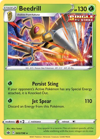 Beedrill (Chilling Reign 003/198)