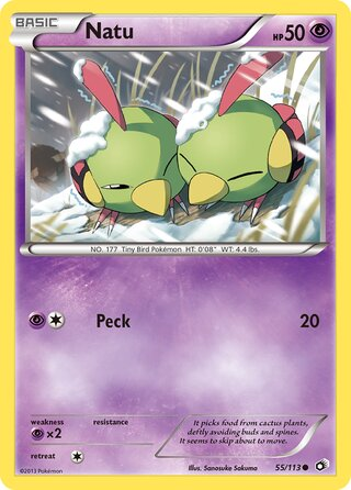 Natu (Legendary Treasures 55/113)