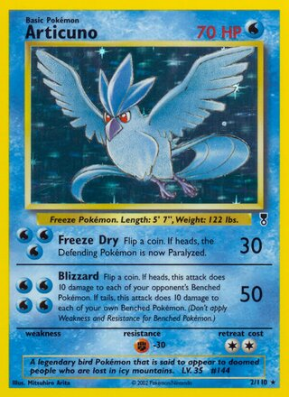 Articuno (Legendary Collection 2/110)
