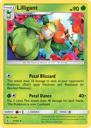 Lilligant (Guardians Rising 5/145)