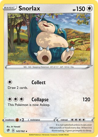Snorlax (Rebel Clash 141/192)