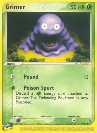 Grimer (EX Dragon 57/97)