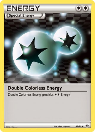 Double Colorless Energy (Next Destinies 92/99)