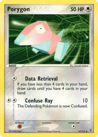 Porygon (EX FireRed & LeafGreen 47/112)