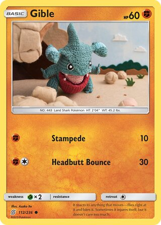 Gible (Unified Minds 112/236)
