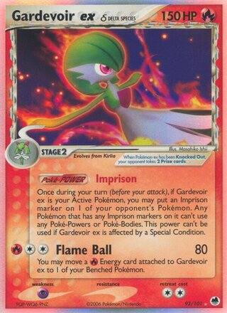 Gardevoir ex δ (EX Dragon Frontiers 93/101)