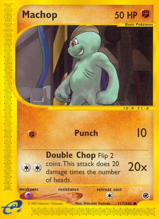 Machop (Expedition Base Set 117/165)