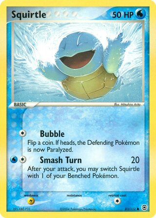 Squirtle (EX FireRed & LeafGreen 83/112)