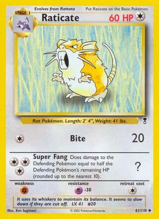 Raticate (Legendary Collection 61/110)
