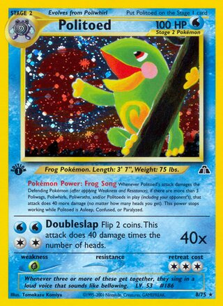 Politoed (Neo Discovery 8/75)