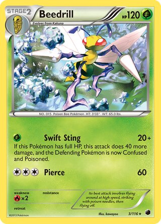 Beedrill (Plasma Freeze 3/116)