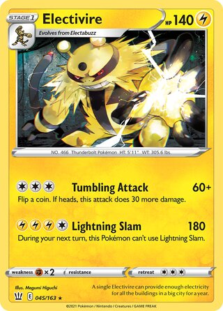 Electivire (Battle Styles 045/163)