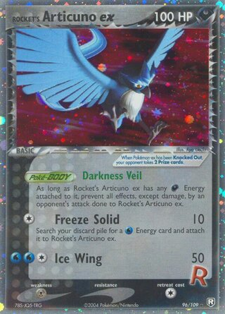 Rocket's Articuno ex (EX Team Rocket Returns 96/109)