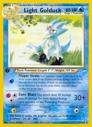 Light Golduck (Neo Destiny 47/105)