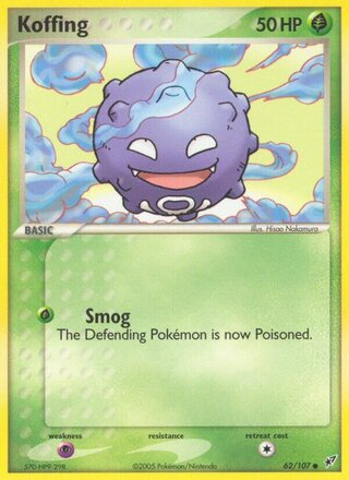 Koffing (EX Deoxys 62/107)