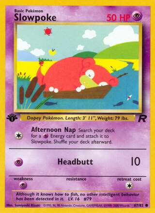Slowpoke (Team Rocket 67/82)
