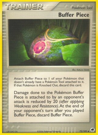 Buffer Piece (EX Dragon Frontiers 72/101)
