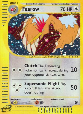 Fearow (Expedition Base Set 11/165)