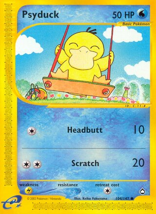Psyduck (Aquapolis 104/147)