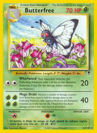 Butterfree (Legendary Collection 21/110)