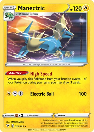 Manectric (Vivid Voltage 052/185)