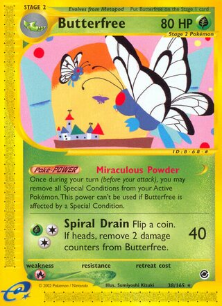 Butterfree (Expedition Base Set 38/165)
