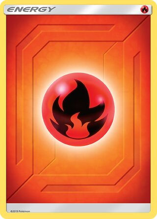 Fire Energy (Team Up Energies — (No. 002))